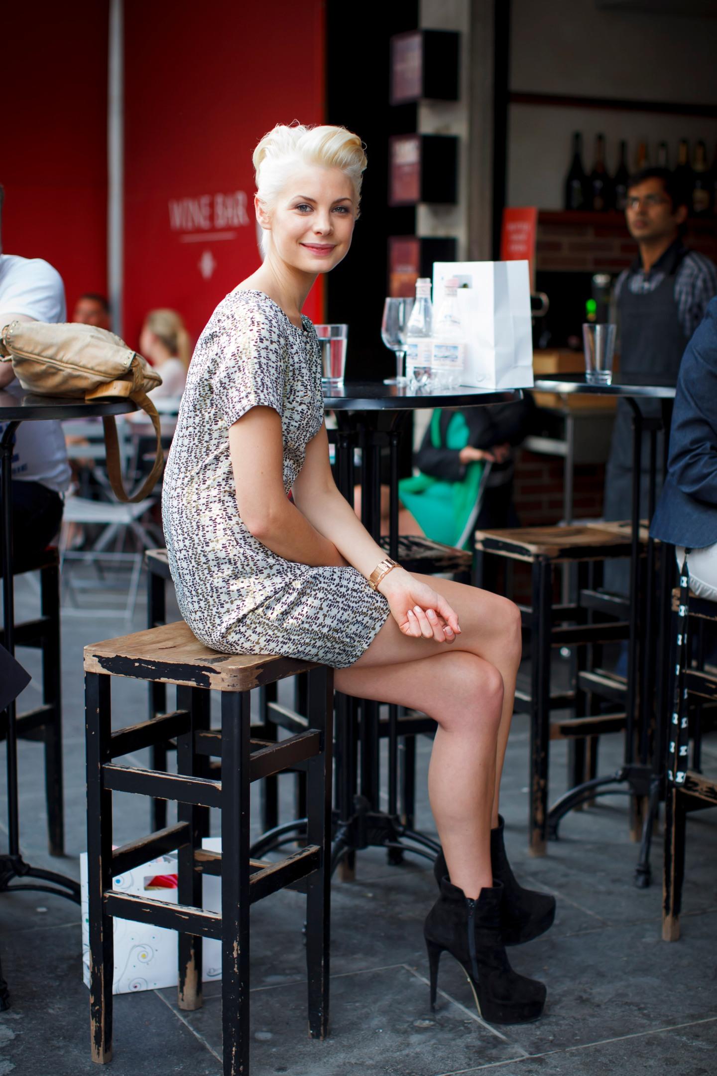 Shift dress, metallic, booties, your ensemble, yourensemble, yourensemble.com