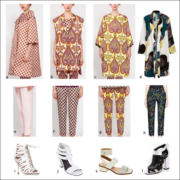 Digital print, head-to-toe, prints, over coat, trousers, pants, your ensemble, yourensemble, yourensemble.com