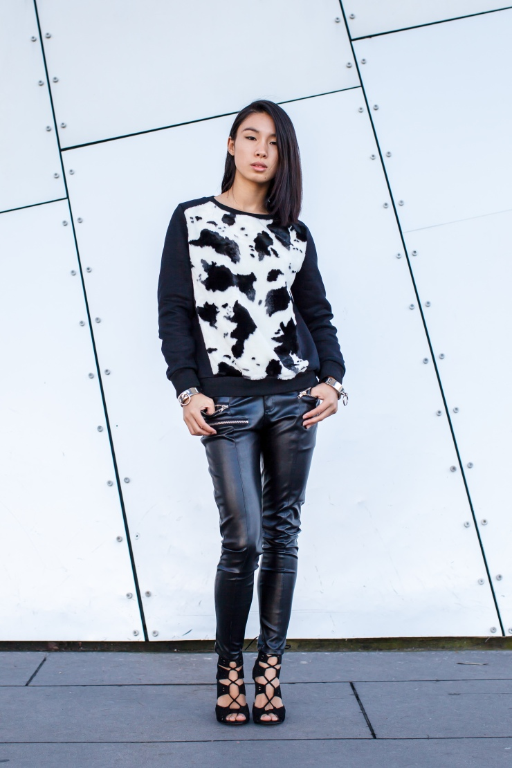 Monochrome, separates, sweater, pants, women's wear, street style, your ensemble, yourensemble, yourensemble.com