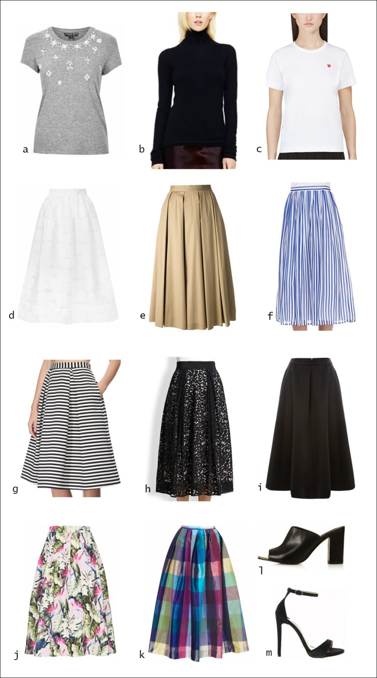 Midi skirt, skirt, tops, tee, t-shirt, turtleneck, heels, women's wear, street style, your ensemble, yourensemble, yourensemble.com