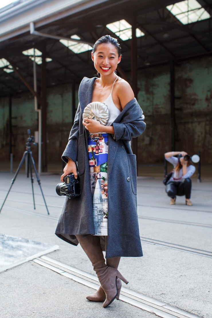 Margaret Zhang, Wool Coat, Oversize Coat, Coat, women's wear, street style, your ensemble, yourensemble, yourensemble.com