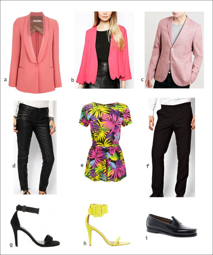 Blazer, pants, loafers, heels, shoes, playsuit, leather pants, men's wear, women's wear, street style, your ensemble, yourensemble, yourensemble.com