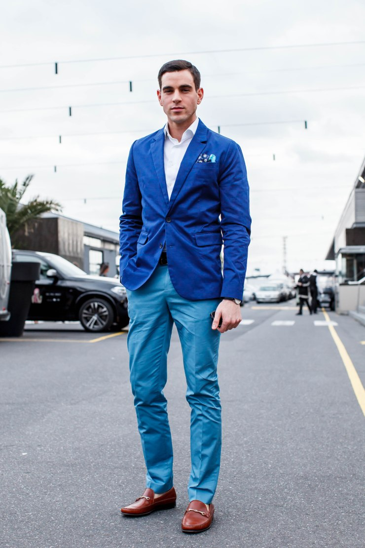 Suit, two-tone, shirt, shoes, loafers, men's wear, street style, your ensemble, yourensemble, yourensemble.com