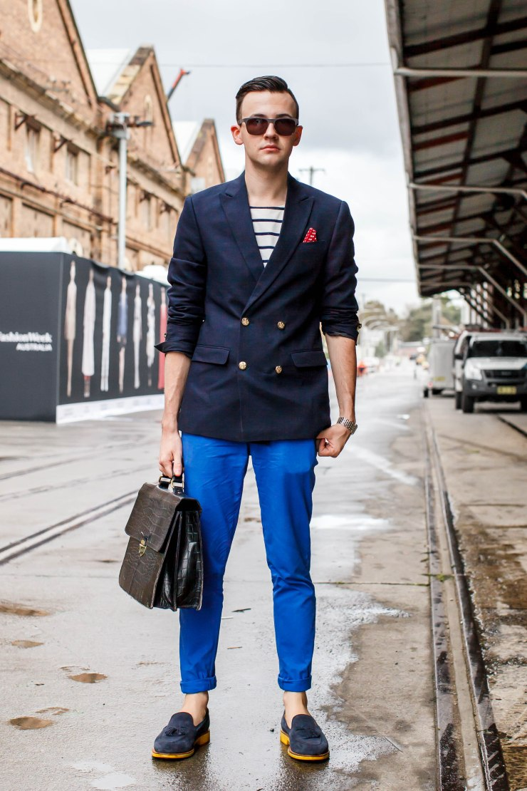 Suit, two-tone, t-shirt, shoes, loafers, men's wear, street style, your ensemble, yourensemble, yourensemble.com