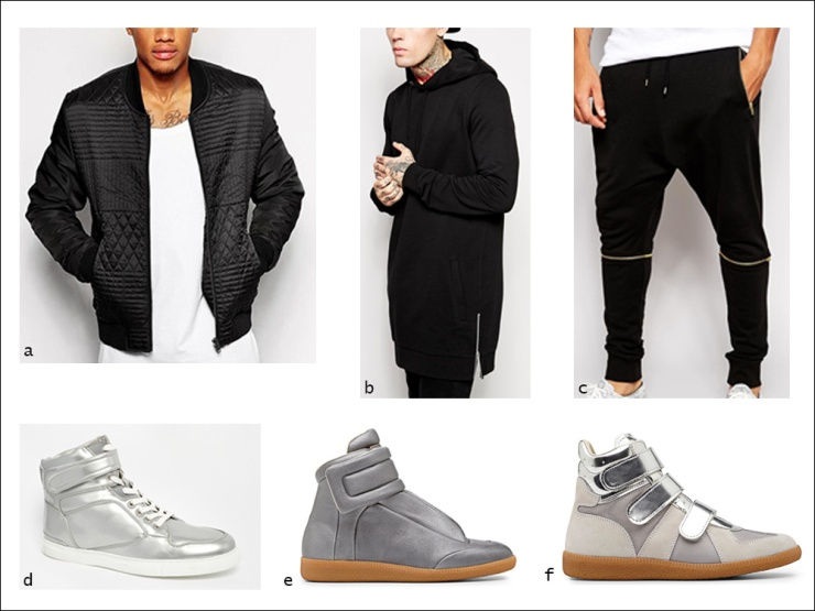 Sports luxe, sweatpants, hoodie, sweatshirt, high-tops, Maison Martin Margiela, Sportswear, men's wear, street style, your ensemble, yourensemble, yourensemble.com