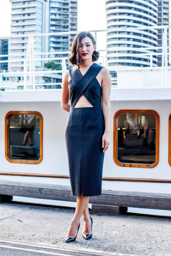 Gary Pepper, Nicole Warne, Cut Out Dress, Michael Lo Sordo, women's wear, street style, your ensemble, yourensemble, yourensemble.com