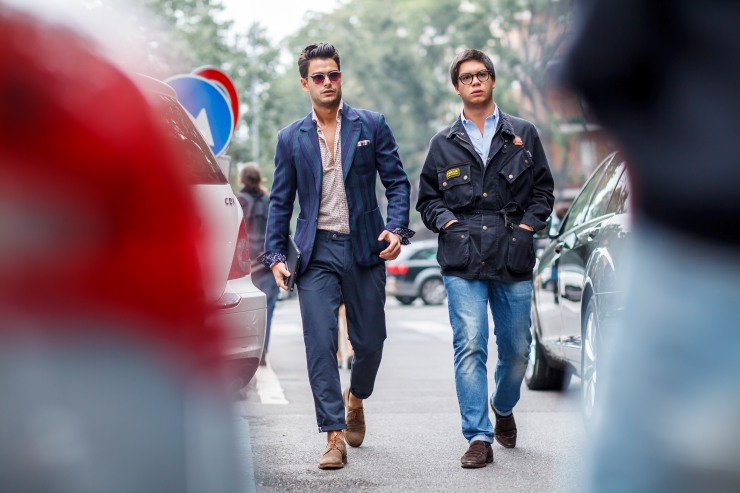 Men's wear, September Fashion Week, Spring/Summer 2015, Milan, MFW, street style, your ensemble, yourensemble, yourensemble.com