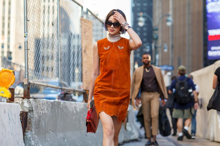 Women's wear, September Fashion Week, Spring/Summer 2016, New York, NYFW, street style, your ensemble, yourensemble, yourensemble.com, Suede