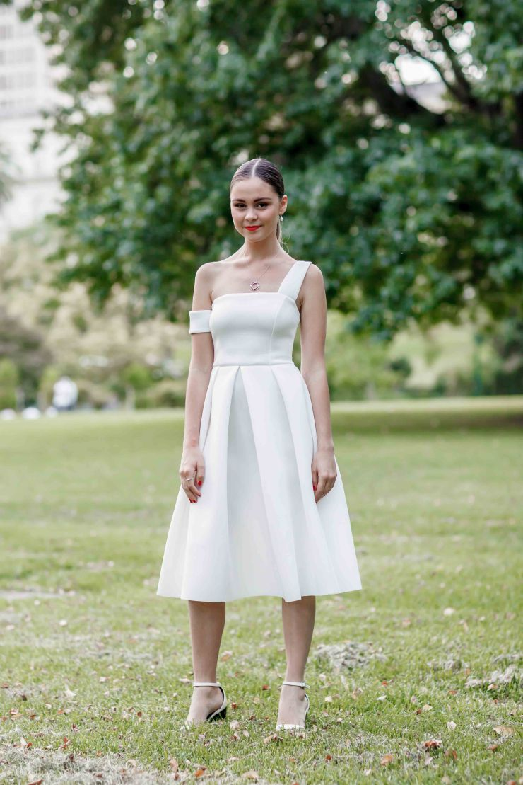 Women's wear, women, Diner En Blanc, Melbourne, street style, your ensemble, yourensemble, yourensemble.com, Vincent Calderon, Photographer