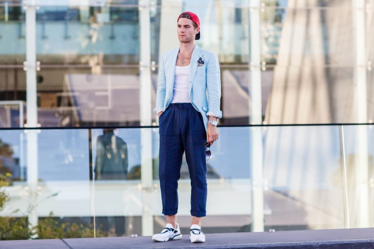 Men's wear, VAMFF, Autumn/Winter 2018, Melbourne, street style, your ensemble, yourensemble, yourensemble.com